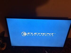 40' Element flat screen tv