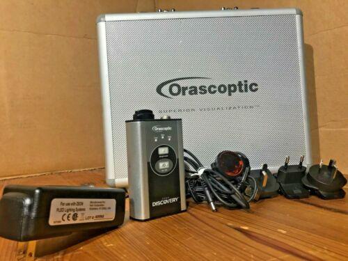 Orascoptic Zeon Discovery LED Headlight -Dental Surgical Loupes *W/ CASE*