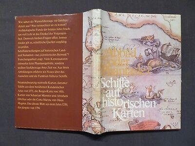 Buch, Ewe, Schiffe auf historischen Karten, Hinstorff Rostock EA 1978 DDR
