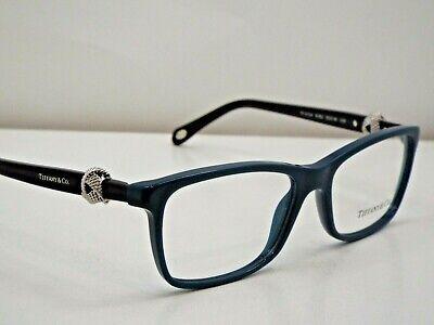 823a9e9ab1f1 Authentic Tiffany   Co. TF 2104 8182 Black Petroleum Green Eyeglasses Frame   345