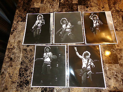 Sammy Hagar RARE Lot of 5 8x10 Vintage Photo Set Montrose Van Halen Chickenfoot