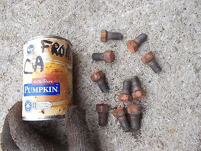 5 Allis Chalmers Ca Tractor Ac Front Hub Stud Bolts Bolt For Rims