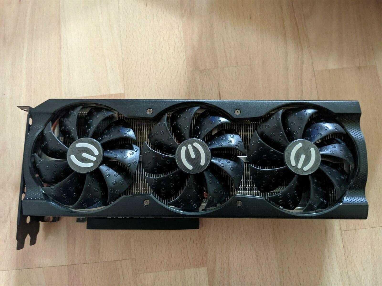 EVGA GeForce RTX 3070 XC3 ULTRA 8GB GDDR6 Grafikkarte rBAR aktiv non-lhr