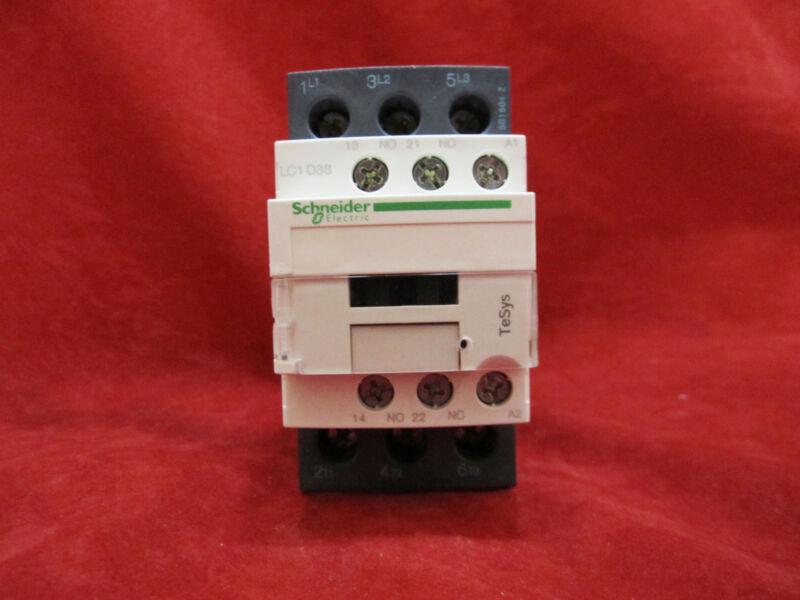 Schneider/Telemecanique LC1D38B7 Magnetic Contactor AC24V