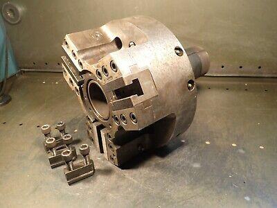 Hardinge Sure-grip Hm-310-8 10 Cnc Power Lathe Chuck 2-12 Thru Hole A2-8 Back