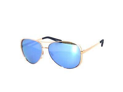 Michael Kors Chelsea 5004 100322 Rose Gold Purple Mirror Polarized Sunglasses