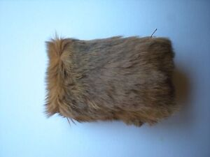Genuine Australian Kangaroo fur/leather coin purse worth a lookNovelty gift idea