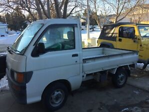 Excellent Condition 1996 Daihatsu Hijet mini truck