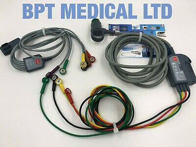 Lifepak Ecg Trunk Lead Cable With 4-wire Limb C1-c6 Side Leads 6 Lifepak 1215