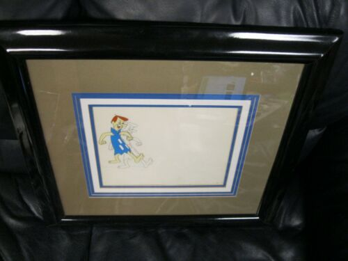 Hanna Barbara George Jetsons Animation Original Cell Framed