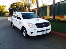 2007 Toyota Hilux, Dual Cab Tray Back, low kms, Turbo Ute Bibra Lake Cockburn Area Preview