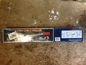 2 Ton cable puller brand new
