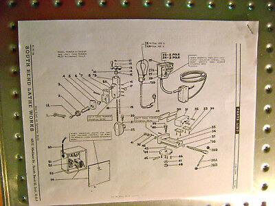 South Bend 7 Precision Shaper Parts List Rare Oil Pump Adjusting Instructions