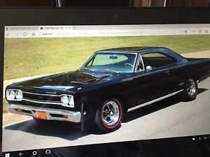 Wanted:  1968/1969 Plymouth GTX or Dodge Charger