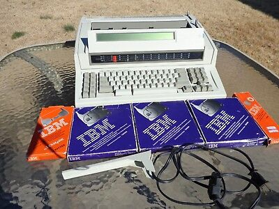 Ibm Personal Wheelwriter 25 Typewriter By Lexmark Machine Type 6785-001 Extras