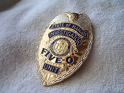 Hawaii Five-0 Badge  reproduction from the TV show