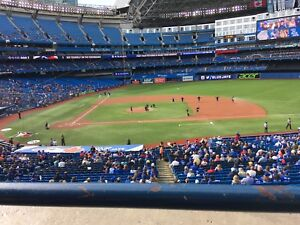 Front Row Blue Jays 2019 Entire Season Tickets