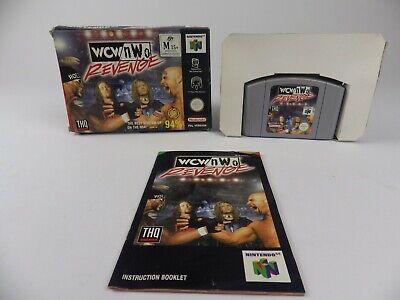 N64 Nintendo 64 Boxed Game - WCW VS NWO Revenge