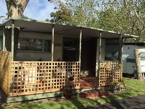 ON SITE Caravan and Annex for sale Dromana Mornington Peninsula Preview