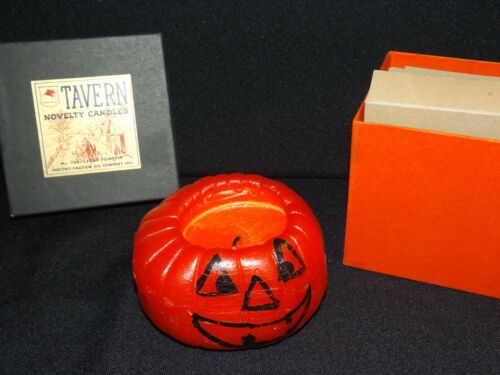 Tavern Novelty Candle no. 764 Halloween Smiling Pumpkin