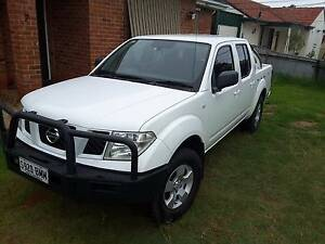 Navara 2010 4x4 6speed Diesel dual cab Broadview Port Adelaide Area Preview