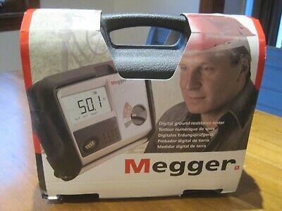 New Megger Det4td Digital Ground Resistance Tester Free Shipping