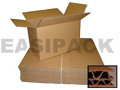 10 Removal Cardboard Packing Boxes 18 x 18 x 20 - Double Wall