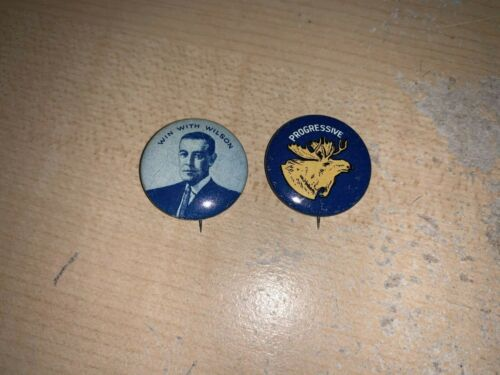 1912 Reproduction Campaign Buttons