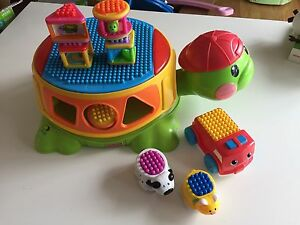 Fisher Price turtle Toy and car