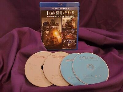 Transformers 4-Movie Collection (Blu ray)