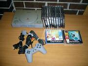 Sony Playstation 1 Console + Controller + 12x Games PS1 Bundle Coolaroo Hume Area Preview