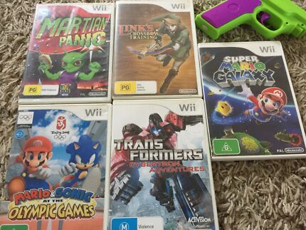 Assorted Wii used games