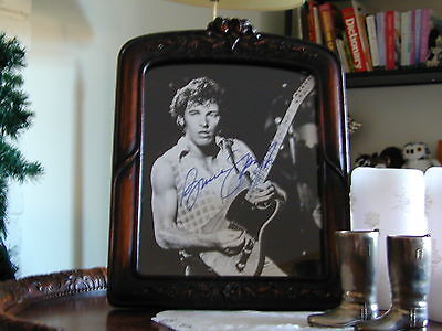 """BRUCE SPRINGSTEEN SIGNED AUTOGRAPH PHOTO 8"""" X 10"""", free shipping"""
