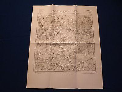 Landkarte Meßtischblatt 2865 Gr. Wittenberg, Posen, Deutsch Krone, 1945