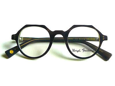 Clearance Sale 80% OFF !! Vinyl Factory Kiedis C1 Black Eyeglasses