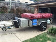 Ezytrail Off-road Galvanised Camper Trailer Beenleigh Logan Area Preview