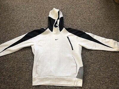 Nike White Hoodie - L