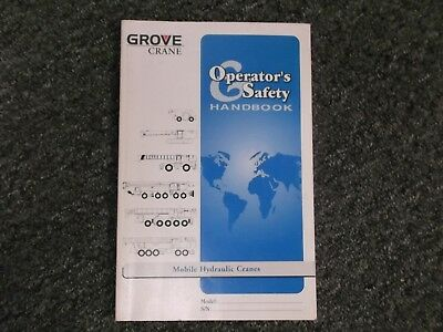 Grove Rt635c Hydraulic Crane Rough Terrain Owner Operator User Manual 87032