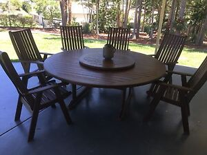 Outdoor wooden furniture Bli Bli Maroochydore Area Preview