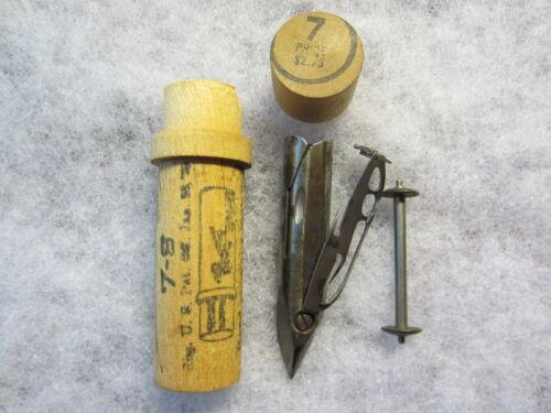 Boye Domestic Fiddlebed Sewing Machine Shuttle & Bobbin, Late 1800