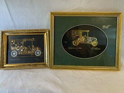 DAVID OF LONDON Montage London Taxi  +  P. Ammon Watch Parts Art A849