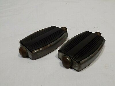 EARLY RALEIGH CHOPPER BIKE PEDALS SPORTS 9/16 TRIUMPH BSA RUDGE MK1 VINTAGE UK!