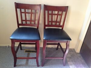 Beautiful high chairs seat $60 for both obo