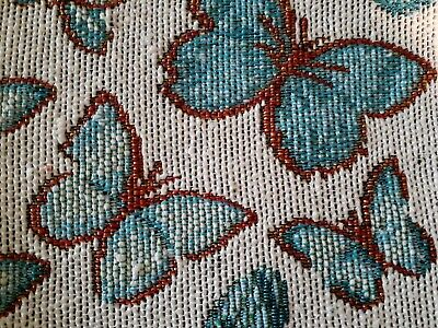 Tapestry Placemats Set of 4 Teal Butterflies  FREE -