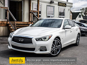 2015 Infiniti Q50 LIMITED LEATHER ROOF NAV BK.CAM BOSE WOW!!