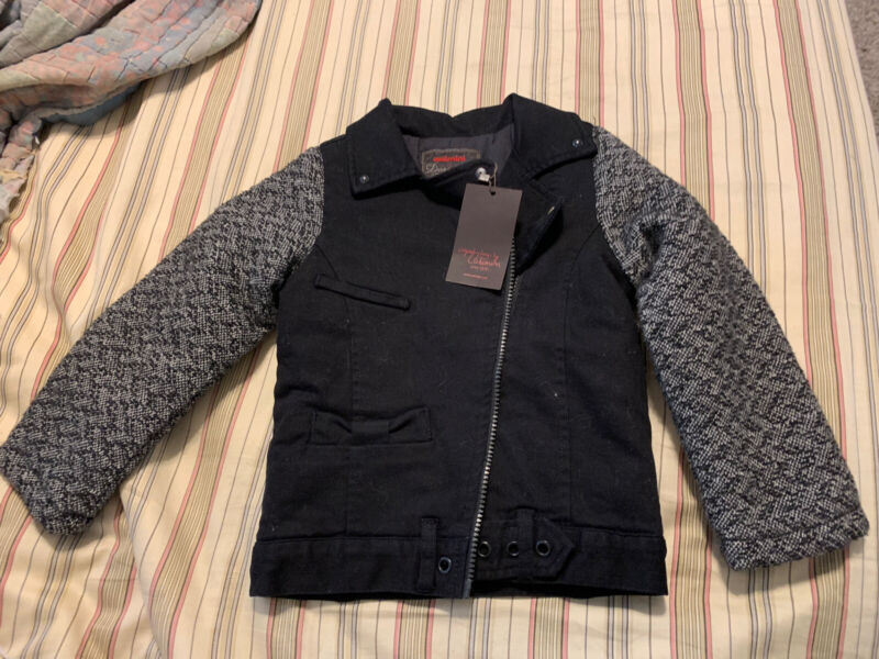 Catimini black jacket- new