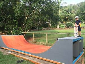 3ft High Skateboard / Scooter Half Pipe Skate Ramp Kingscliff Tweed Heads Area Preview