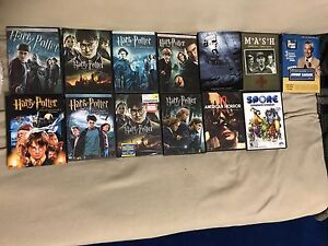 DVDs for sale (mostly Harry Potter)