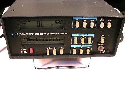 Newport Optical Power Meter Model 835 With Gpib