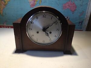 Enfield Mantle Clock. Made in England.
